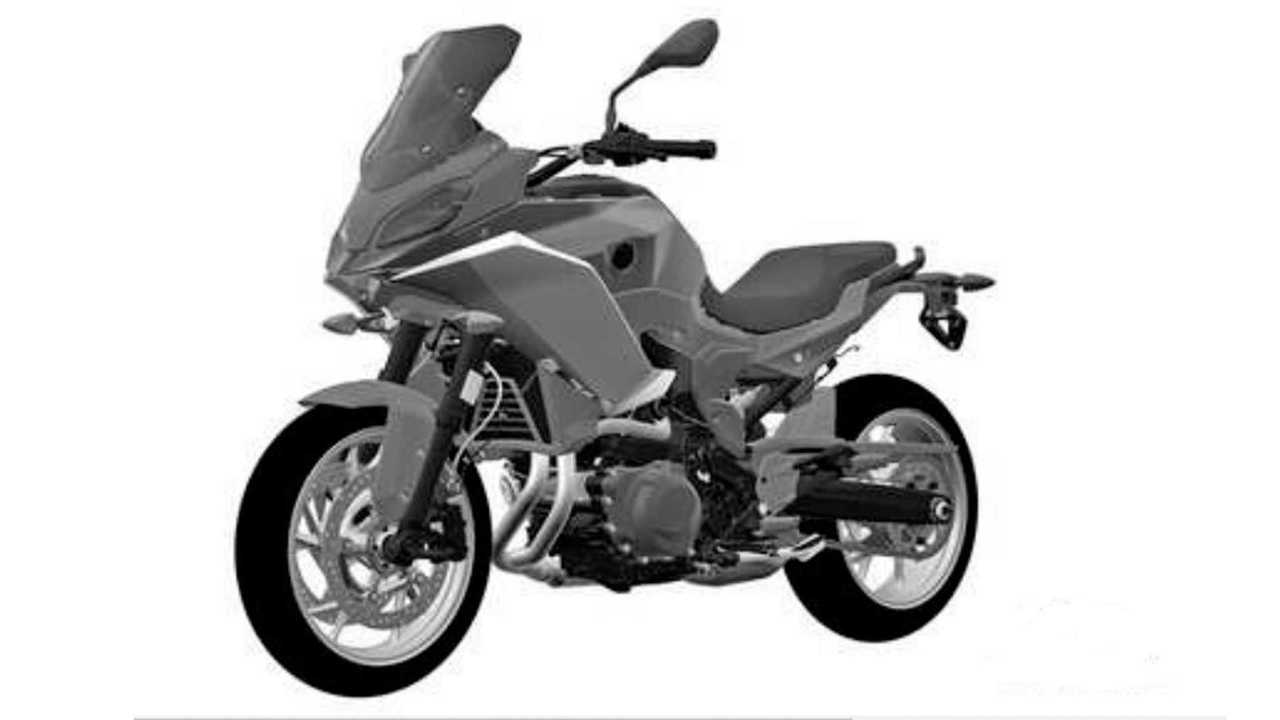 BMW F 850 RS Patent