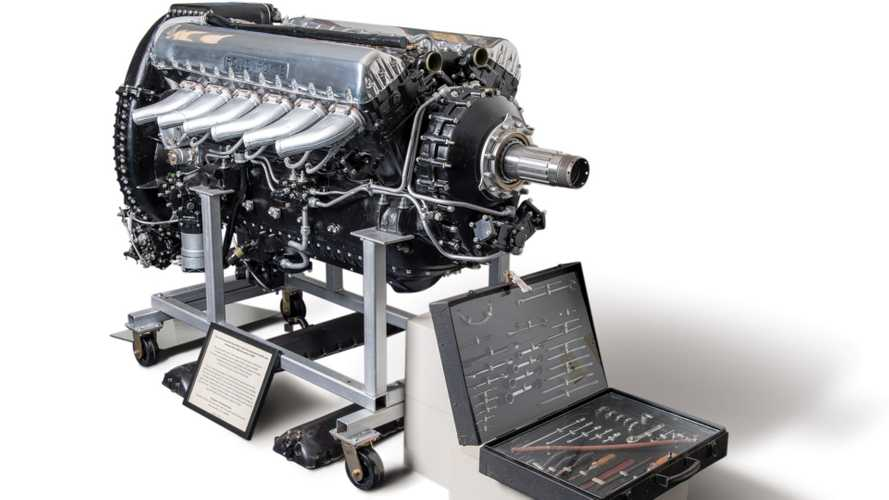 Legendary Rolls-Royce Merlin Engine Heads To Auction