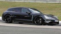 2021 Porsche Taycan Cross Turismo casus fotoğraflar