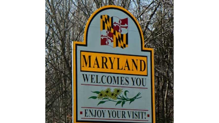 Maryland: 1,700 Residents Take Advantage of State's $600 to $1,000 EV Excise Tax Credit