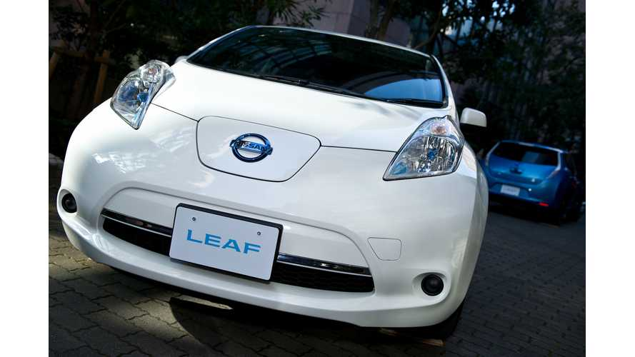 Over 1,000 Nissan LEAFs Sold in Japan in July
