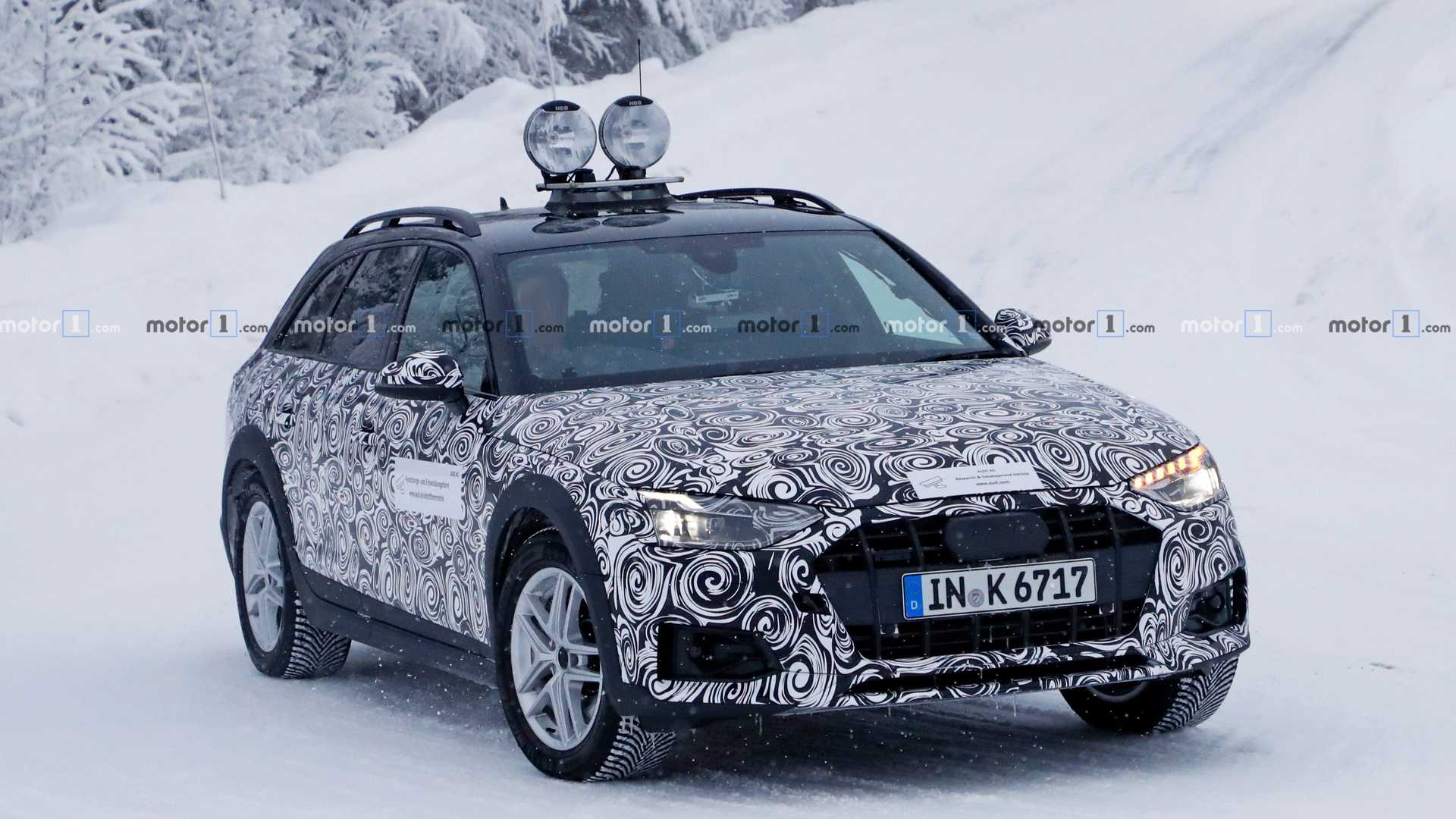 New Audi A4 Allroad Spied For The First Time Update