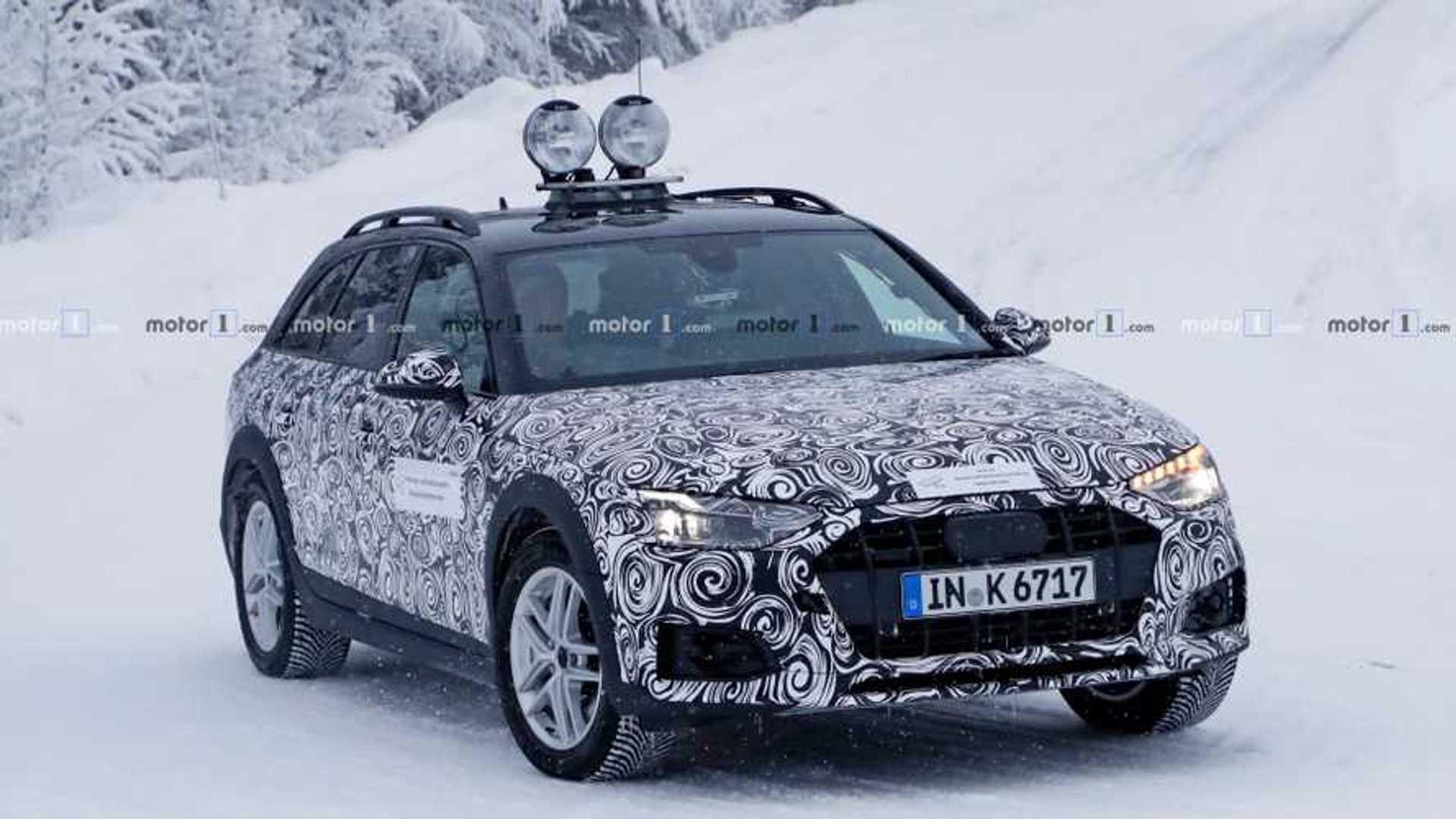 Audi A4 Allroad Quattro 2020 Erlkonig Erstmals Erwischt
