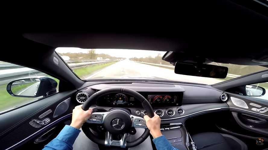 Vídeo: un Mercedes-AMG GT 63 S Coupé 4 Puertas, a 290 km/h
