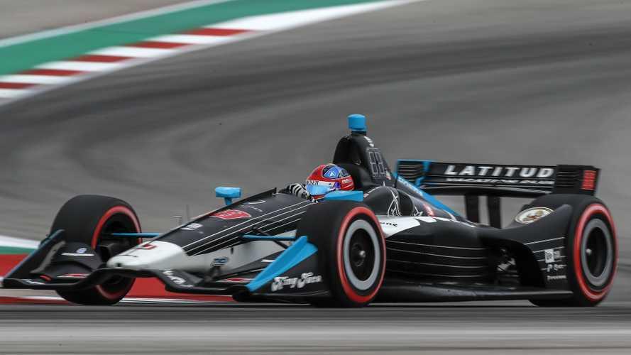 Fórmula Indy: Jovem de 18 anos faz história na 1º corrida em Austin