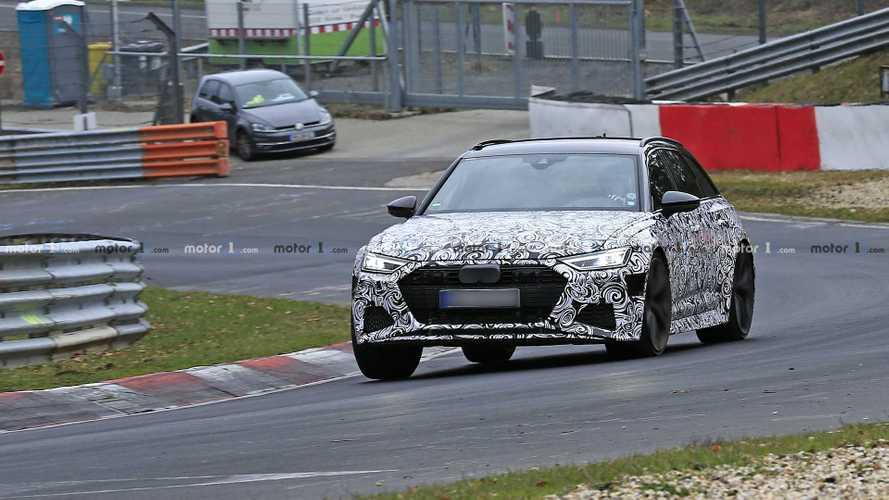 Flagra: Novo Audi RS6 Avant aparece sendo levado ao limite