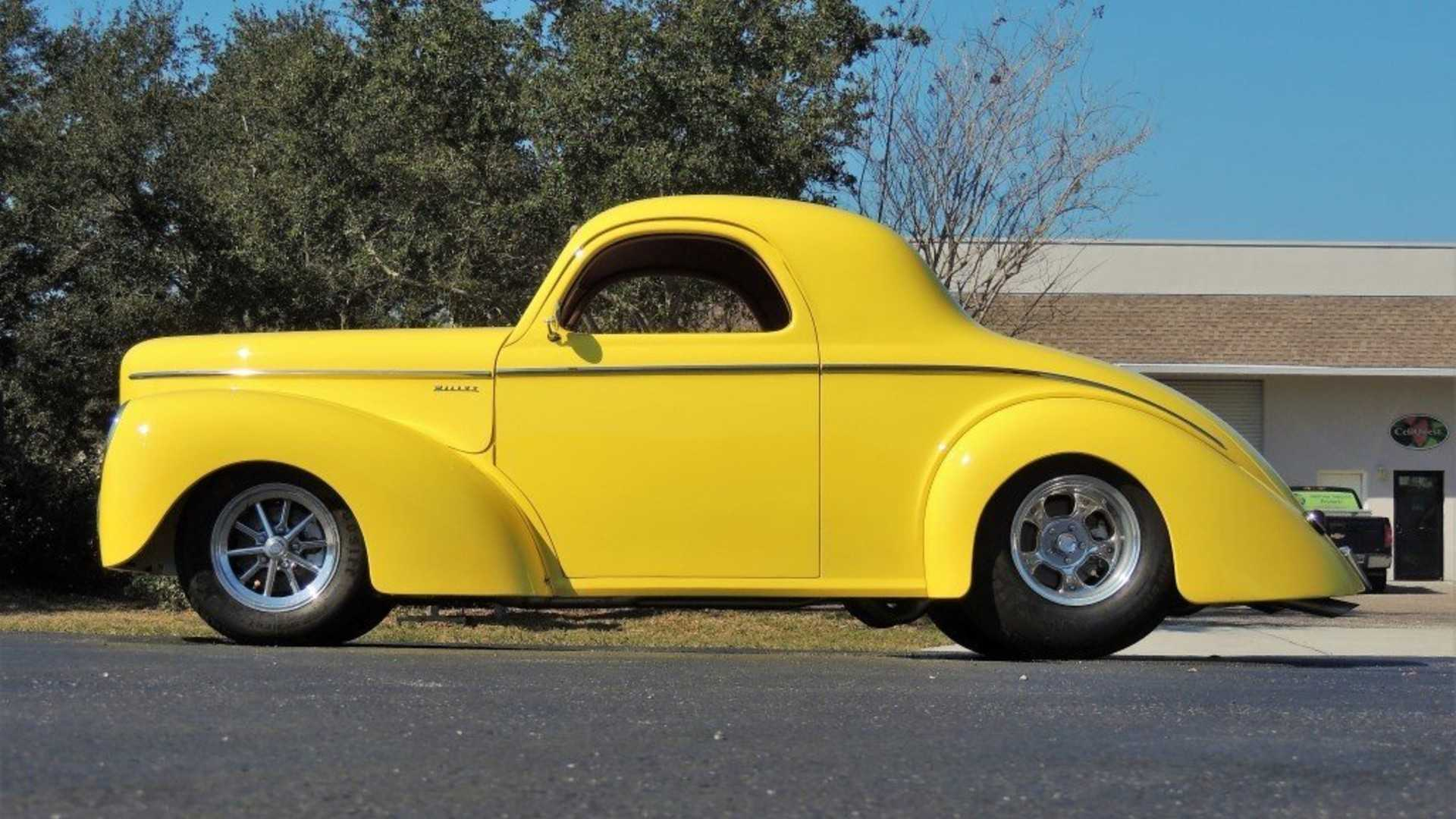 This 1941 Willys Hot Rod Is Not So Mellow In Yellow | Motorious