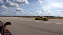 Ford GT Vs Corvette ZR1 Drag Race
