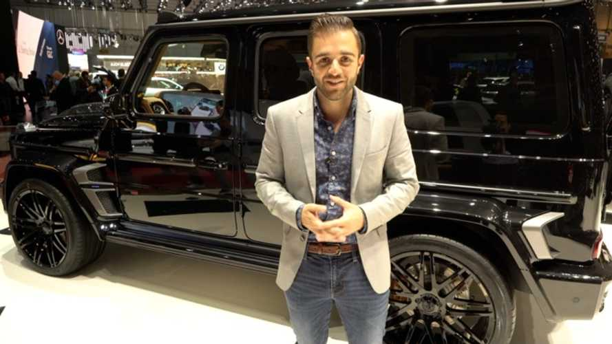 Brabus 800 Widestar live video from Geneva
