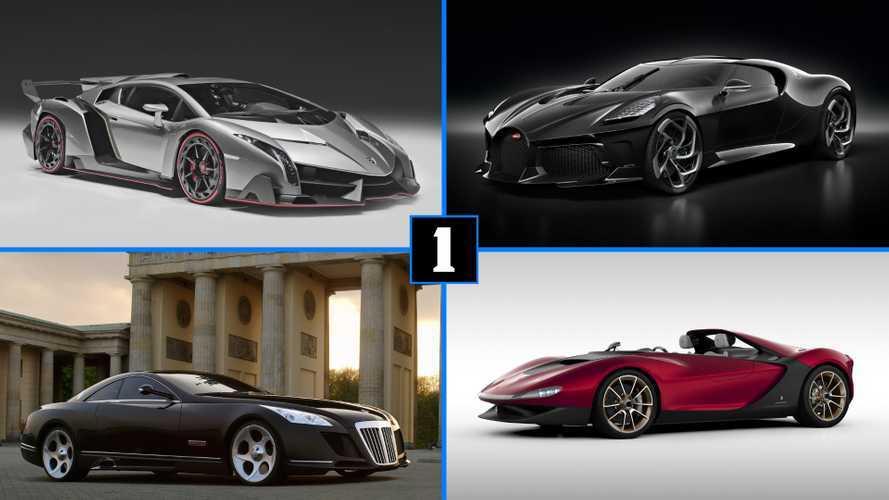 DIAPORAMA - Les voitures les plus chères au monde