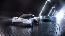 Aston Martin AM-RB 003 and Vanquish Vision Concept