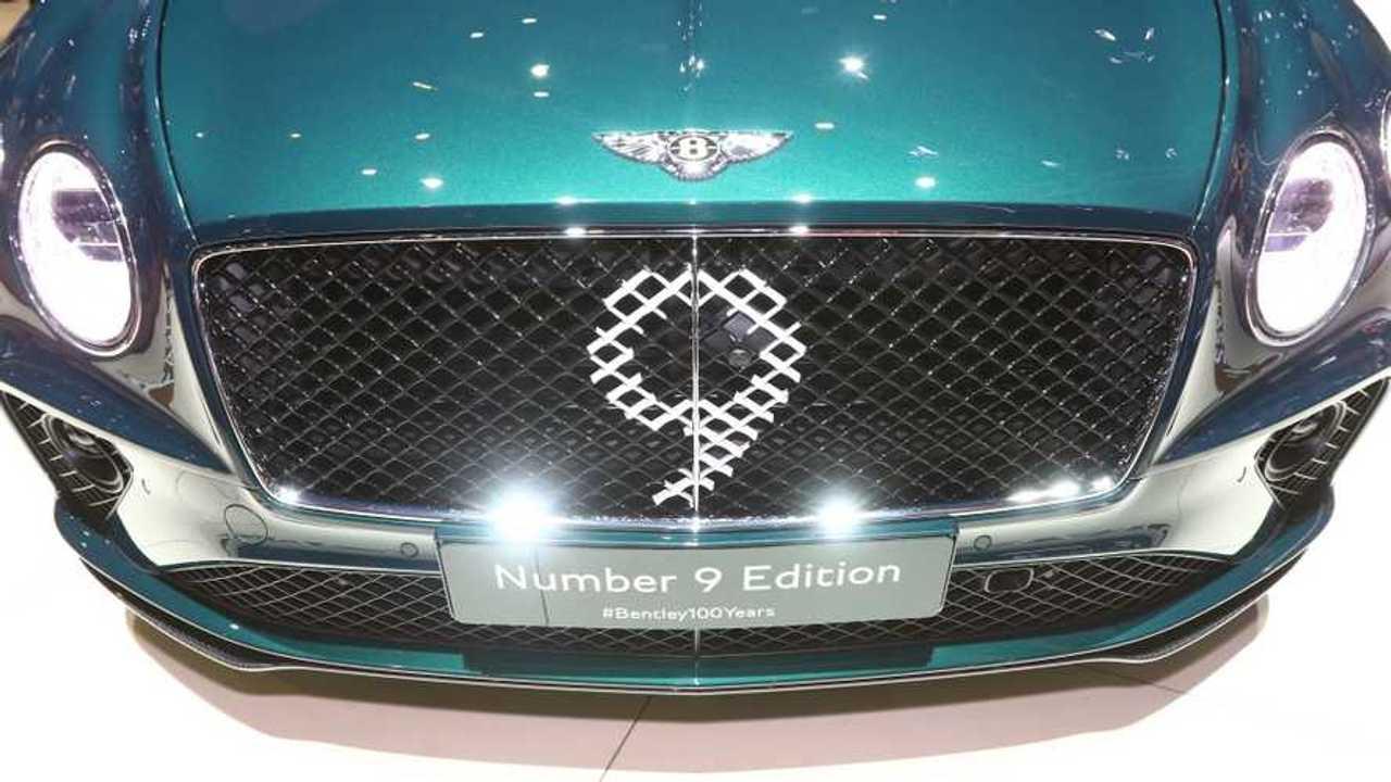 Bentley Continental GT numero 9 edizione