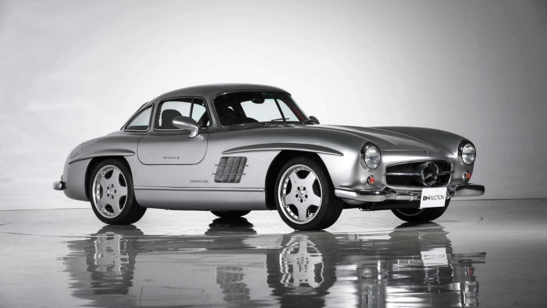 This Modified Mercedes Gullwing Is A Crime Against Classic ...
