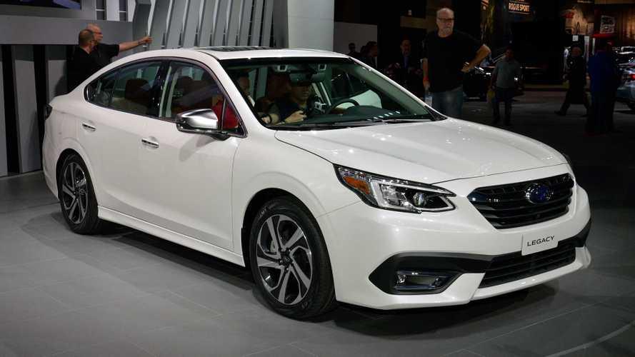 2020 Subaru Legacy Debuts Attractive New Cabin, 260-HP Turbo
