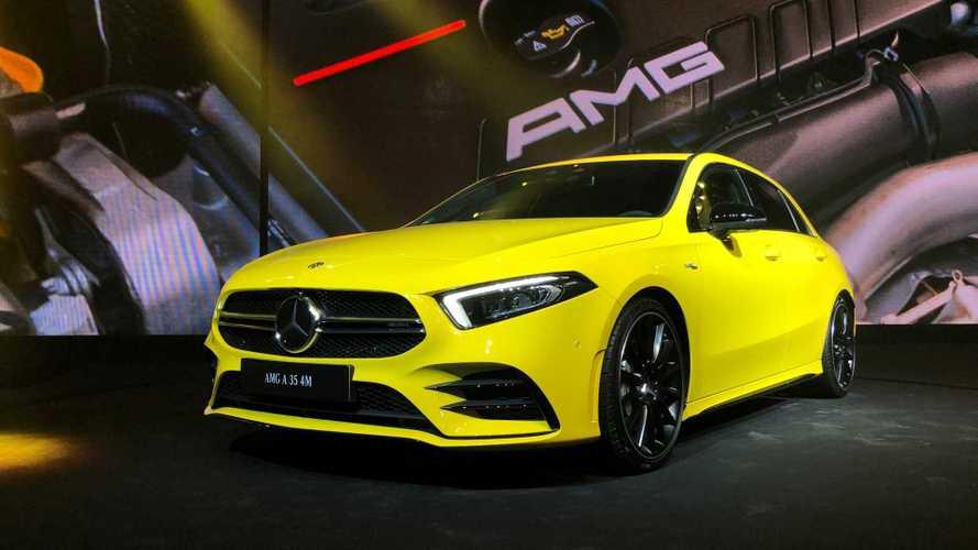 Mercedes-AMG já mostra o esportivo A 35 no Brasil