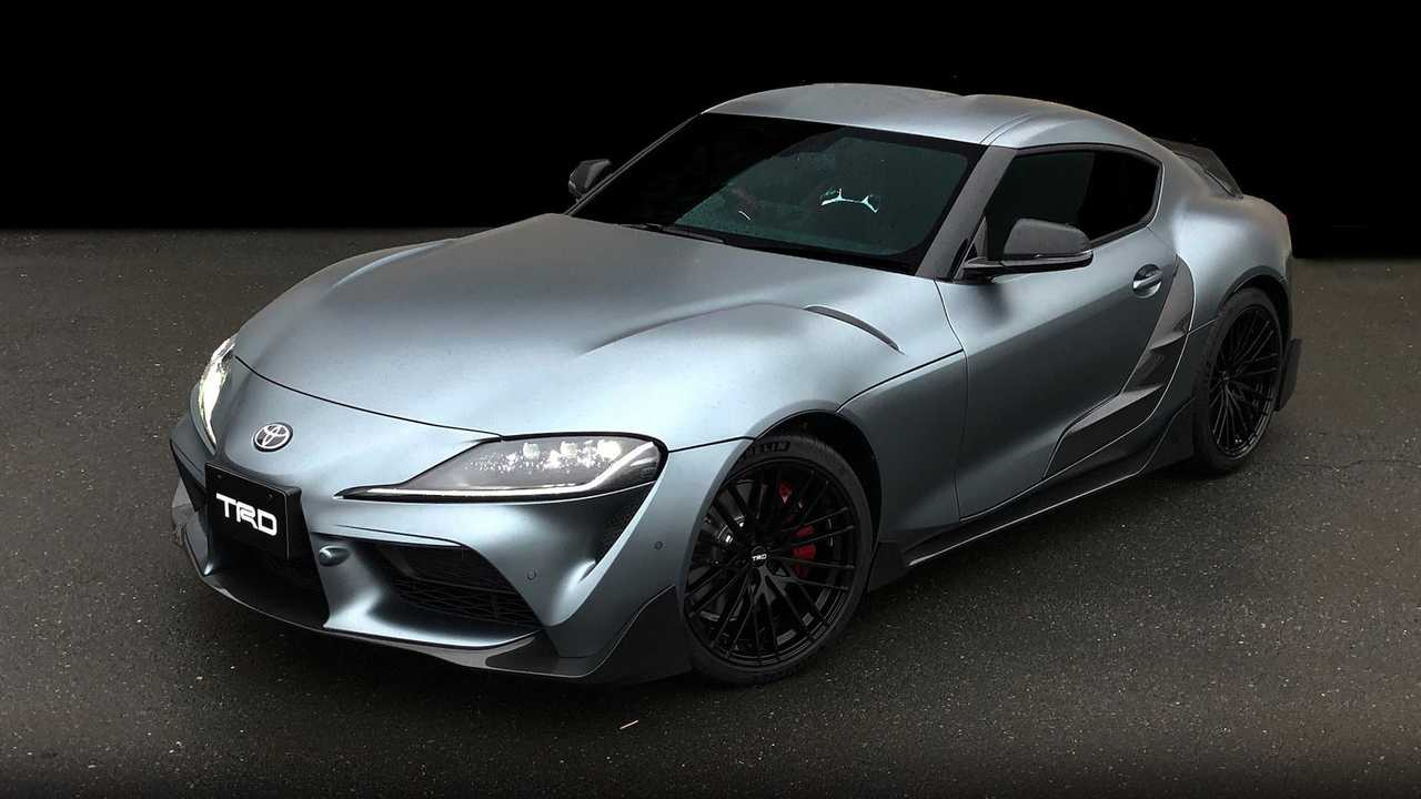 toyota supra trd racing toyota supra trd concept debuts and it's more than just pretty #1