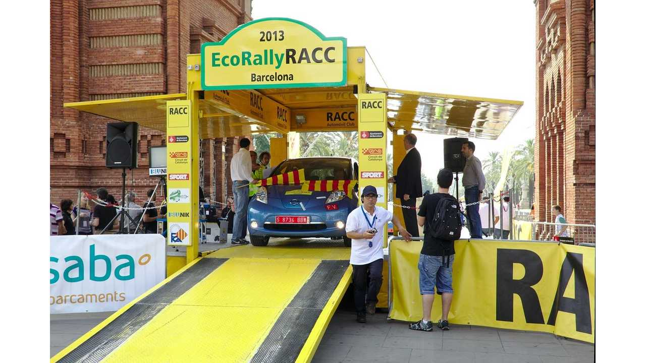 Nissan LEAF at ECOseries