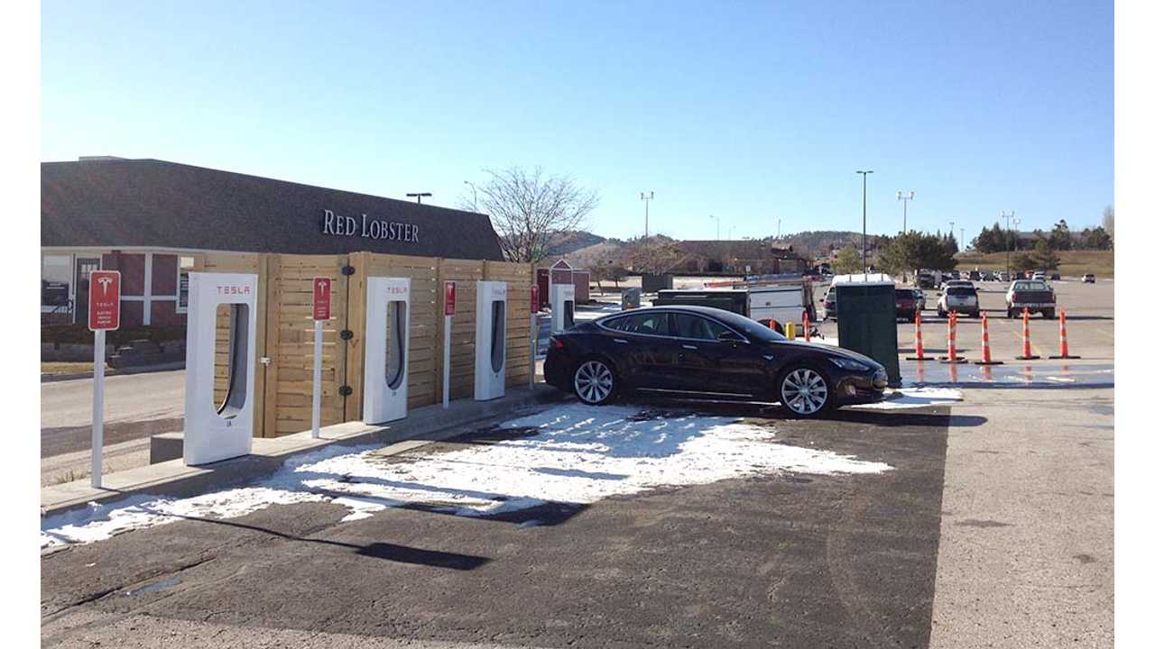 Flash News: South Dakota Gets First Tesla Supercharging Location In Rapid City