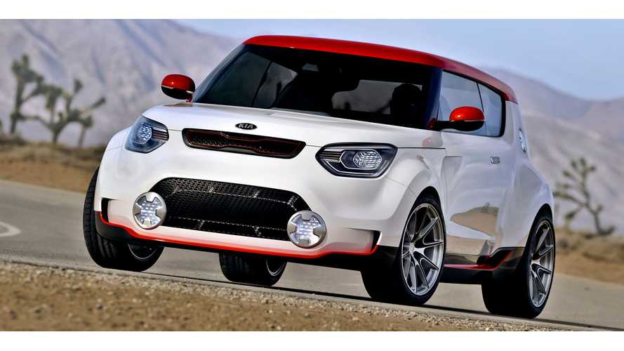 Kia Soul EV to Launch in US in 2014 With 27-kWh Battery Pack, Range of More Than 120 Miles and Quick-Charge Capability