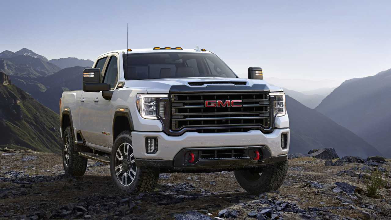 2020 GMC Sierra HD Arrives With More Tech And New Off-Road ...
