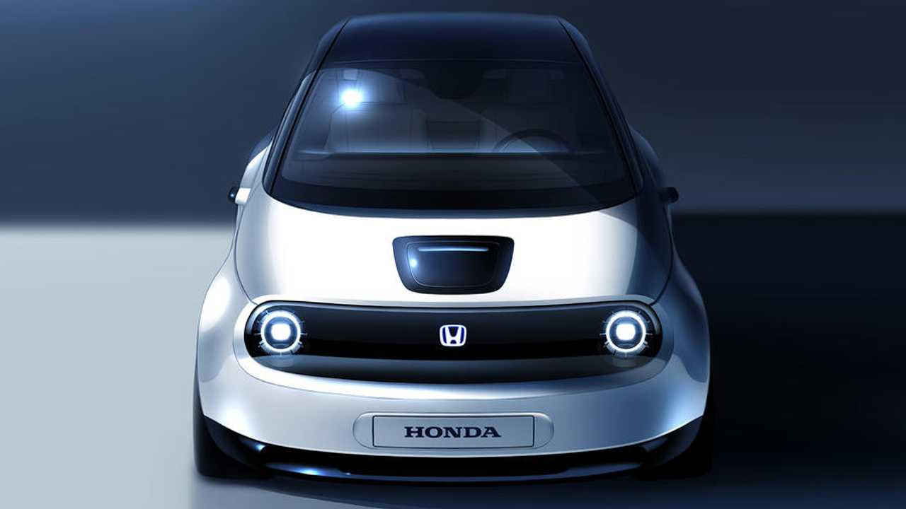 Honda Urban Üretim Modeli Eskizi