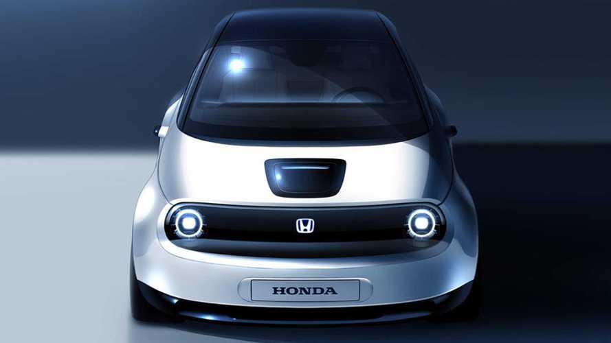 Honda'nın yeni elektrikli aracı Urban'ın ilk görseli geldi