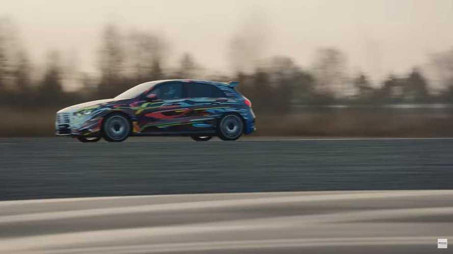 Mercedes-AMG A45 Drift Teaser