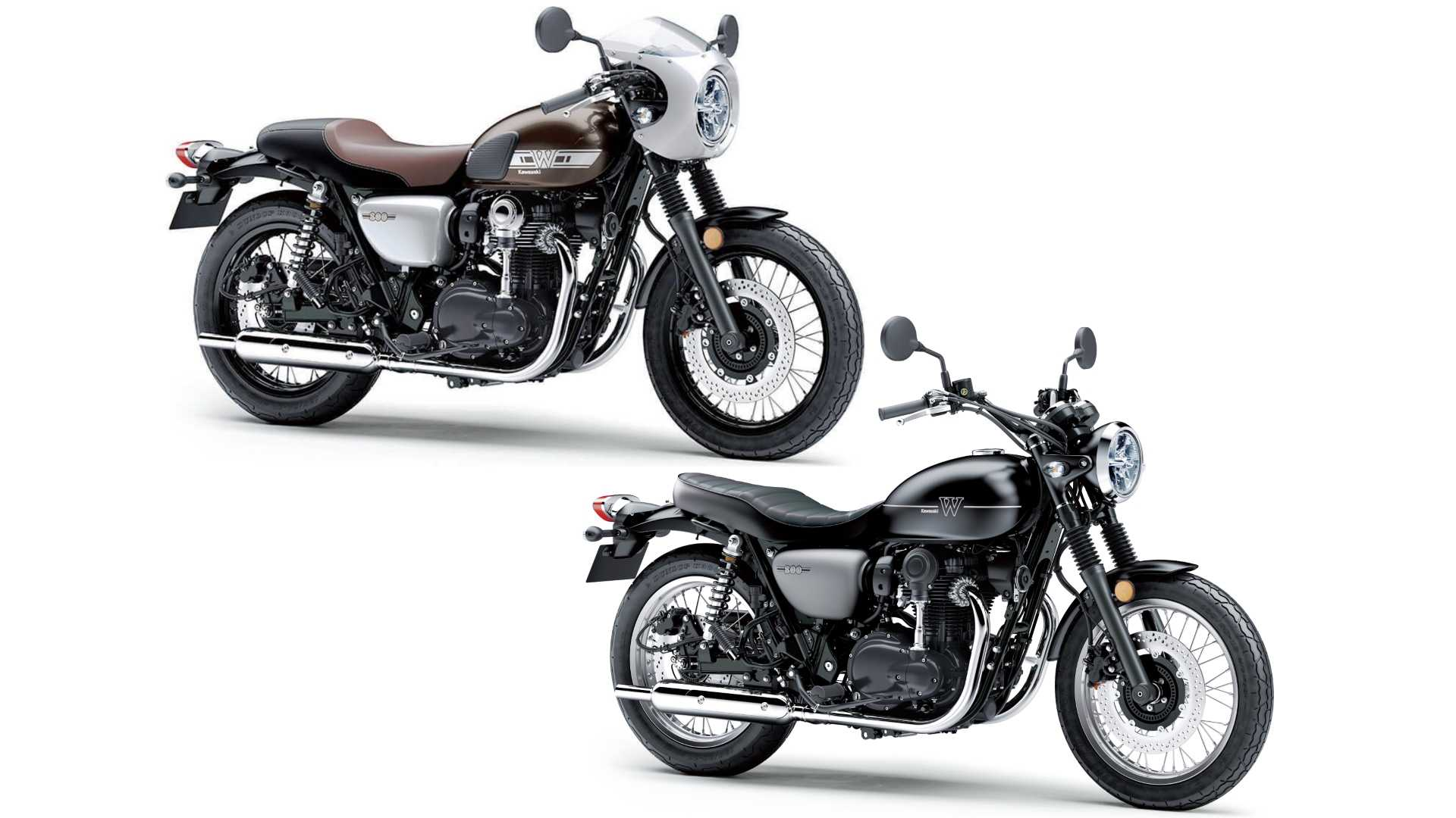 Kawasaki W800 Street To Join Cafe Stateside For 2019