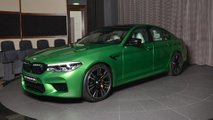 BMW M5 Rally Green