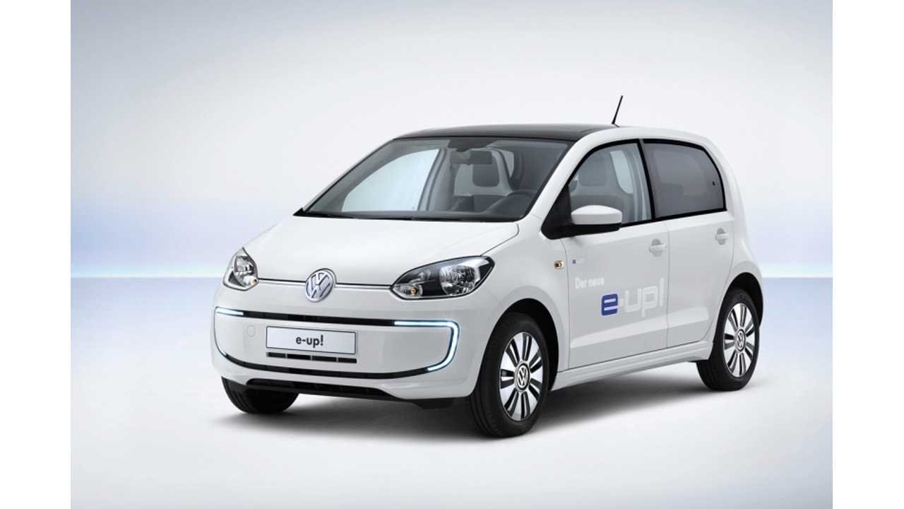 Audi Planning To Make e-tron Version Of VW e-Up!