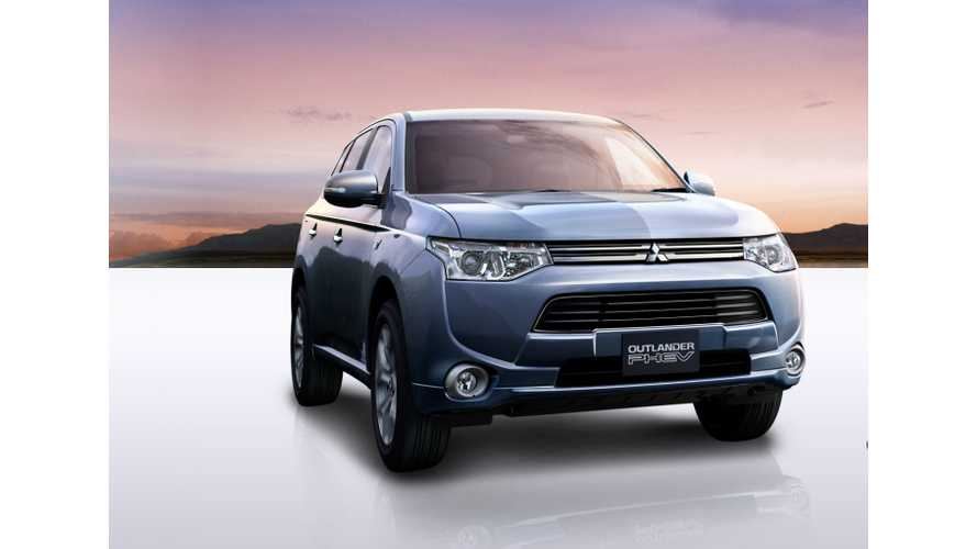 Mitsubishi Sells Over 500 Outlander PHEVs In First Week As Global Demand Intensifies