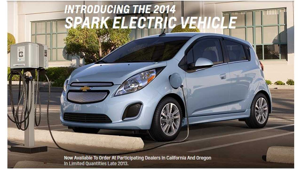 Setting the Record Straight on the 2014 Chevy Spark EV: Launch Date, SAE Combo Charger Details, No Fuzzy Torque Rating and More