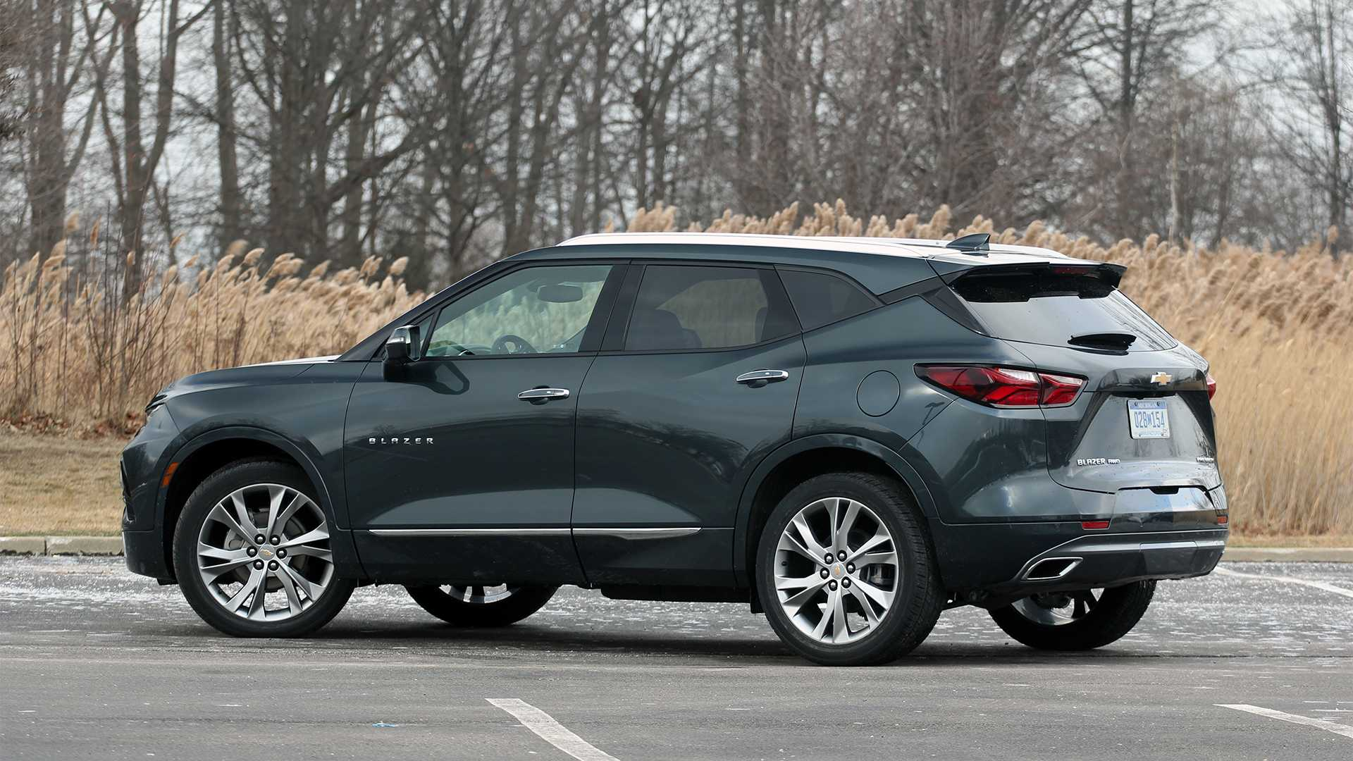 2019 Chevy Blazer Premier Awd Review Camaro Utility Vehicle