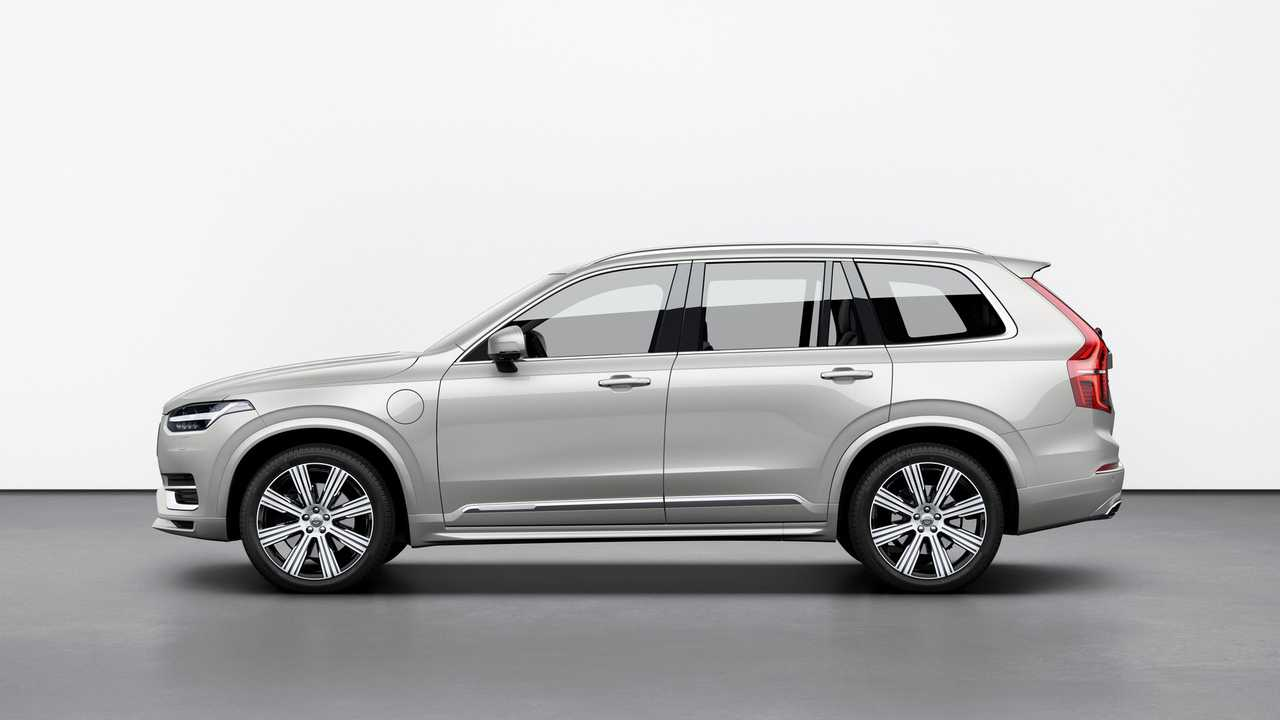 Volvo Xc90 Facelift Unveiled With Kers For Better Fuel Efficiency