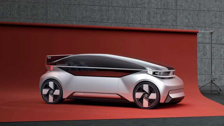 Volvo 360c Is Automaker's Electric Autonomous Alternative To Flight