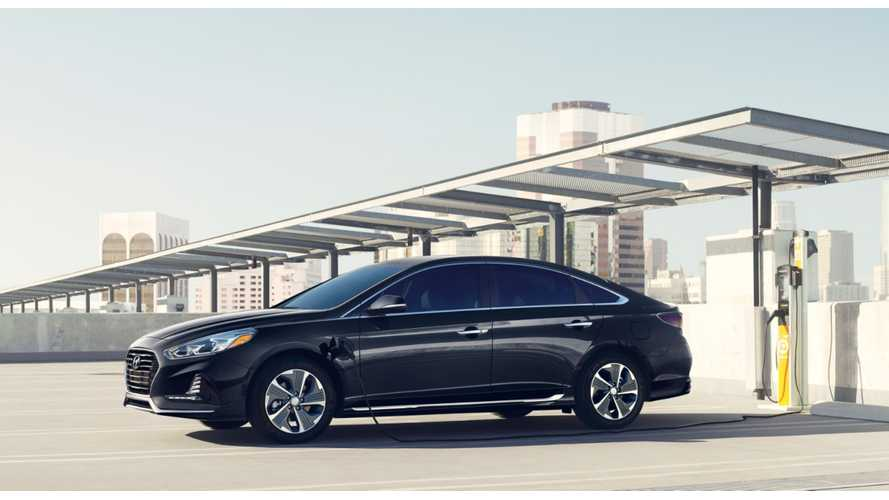 Hyundai Slashes Price Of Plug-In Hybrid Sonata, Electric Range Increased