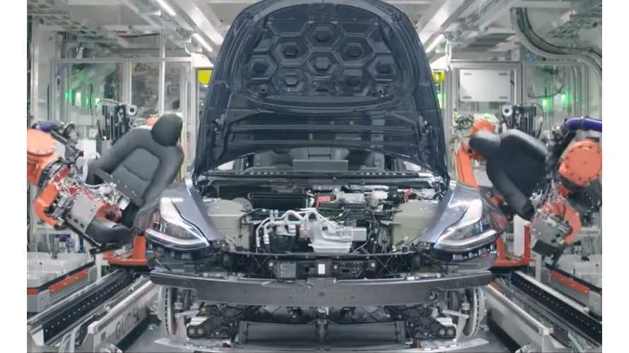 Tesla Climbs Automaker Ranks For Vehicle Production In North America