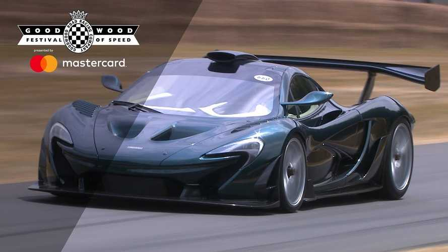 Watch The Plug-In Hybrid McLaren P1 At Goodwood