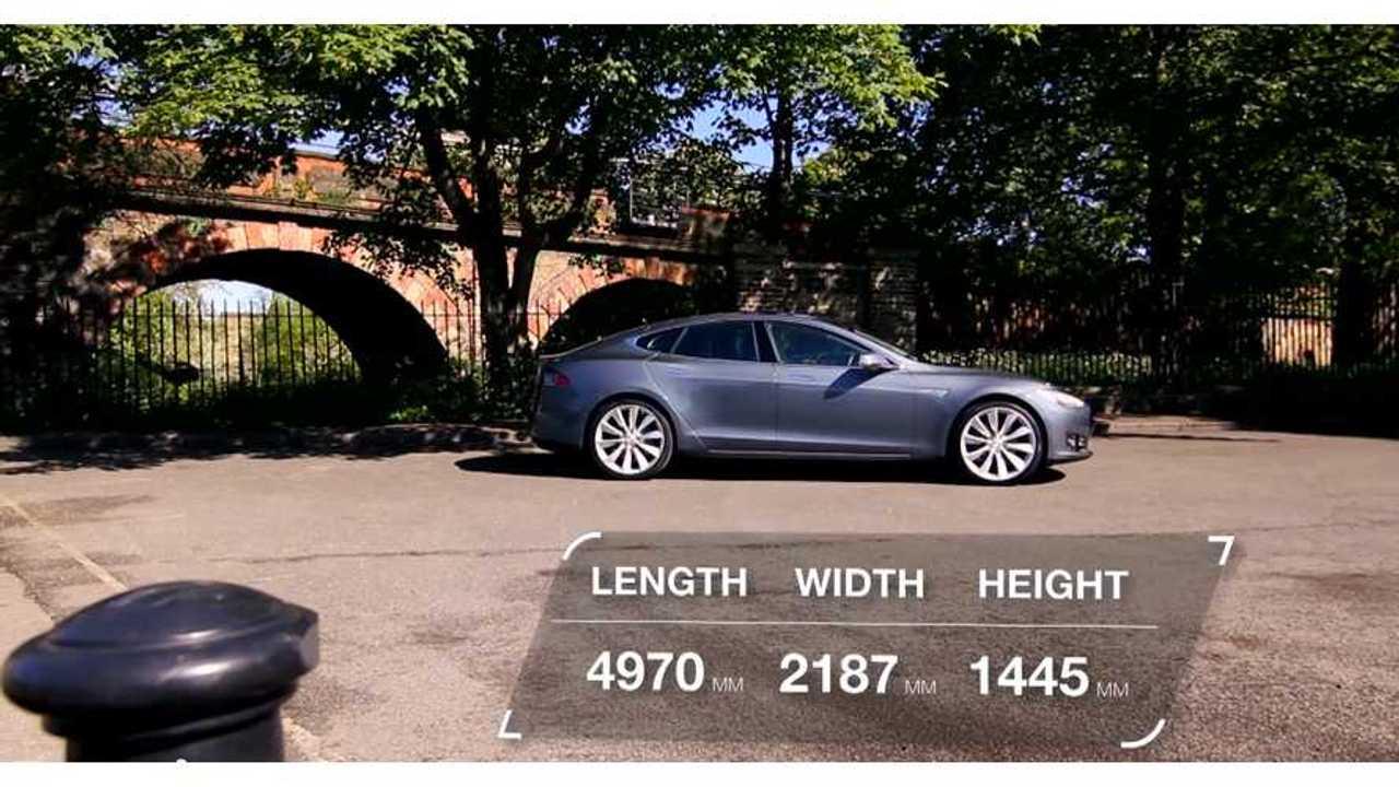 Tesla Model S Screen Shot - Auto Trader UK