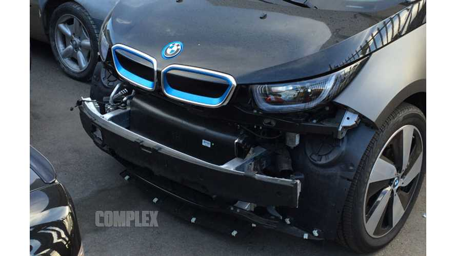 BMW i3 Involved In Minor Fender Bender In Los Angeles