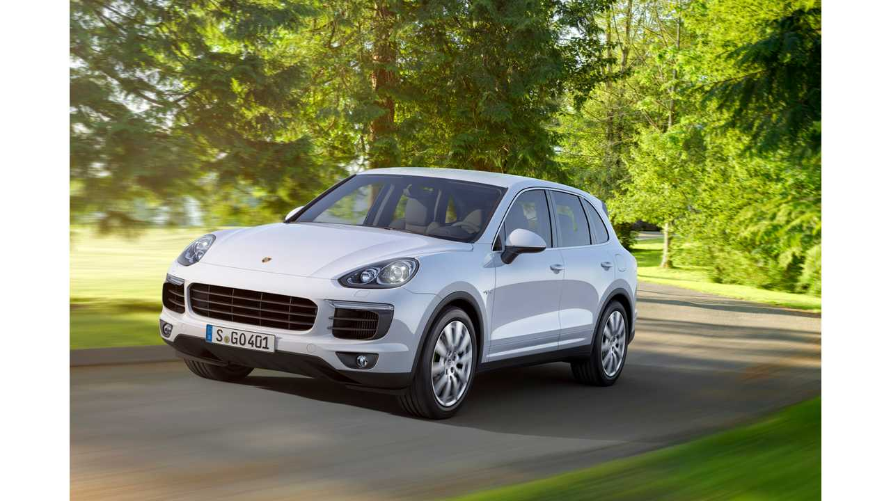 2015 Porsche Cayenne S E-Hybrid Priced At $76,400 - Details Released