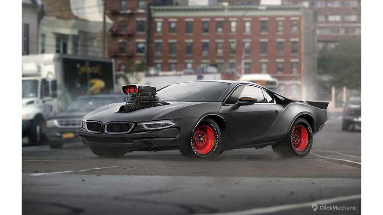BMW i8 Hellcat Rendered