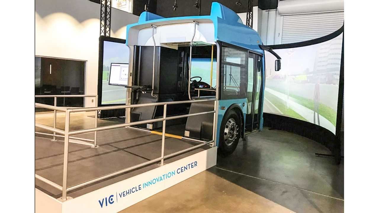 New Flyer's Electric Bus Simulator Helps Driver Save 15% Electricity