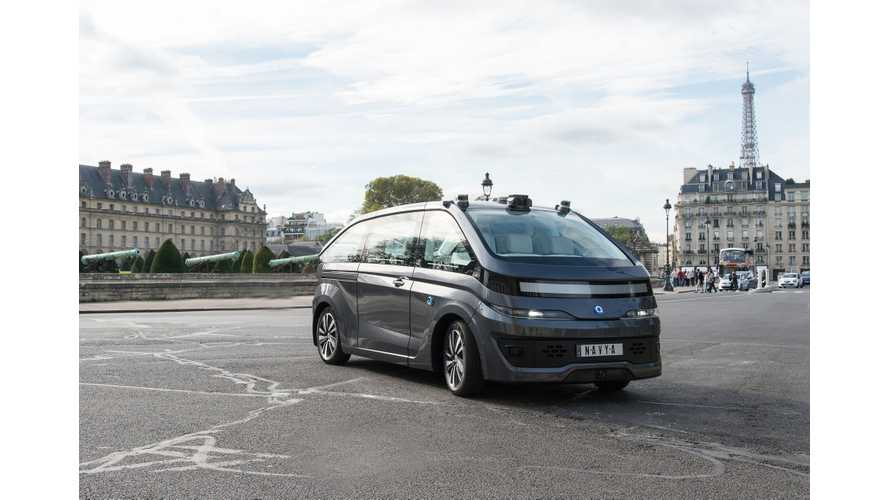 NAVYA Introduces Autonomous Robo Taxi AUTONOM CAB (w/Videos)