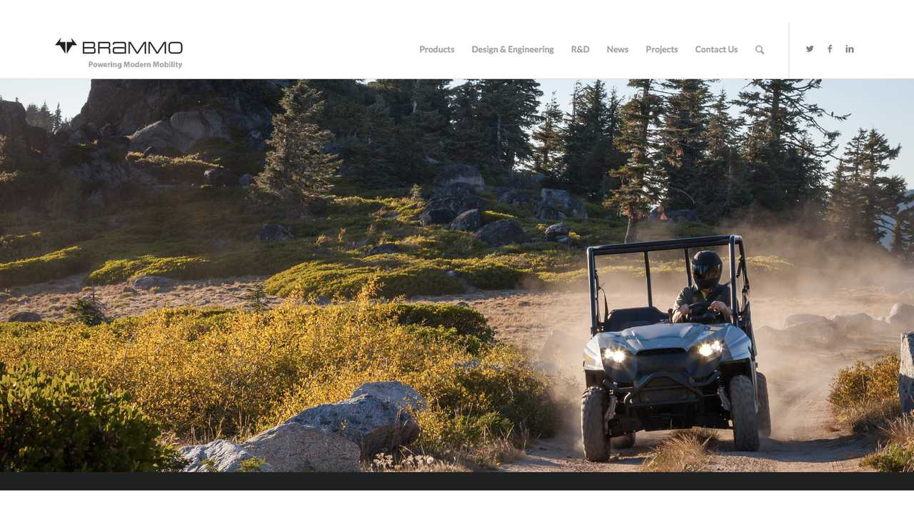 Brammo Launches New Website Featuring Powertrain Business Model