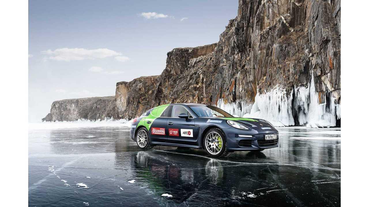 Development Well Underway On 265-Mile Electric Porsche Sedan