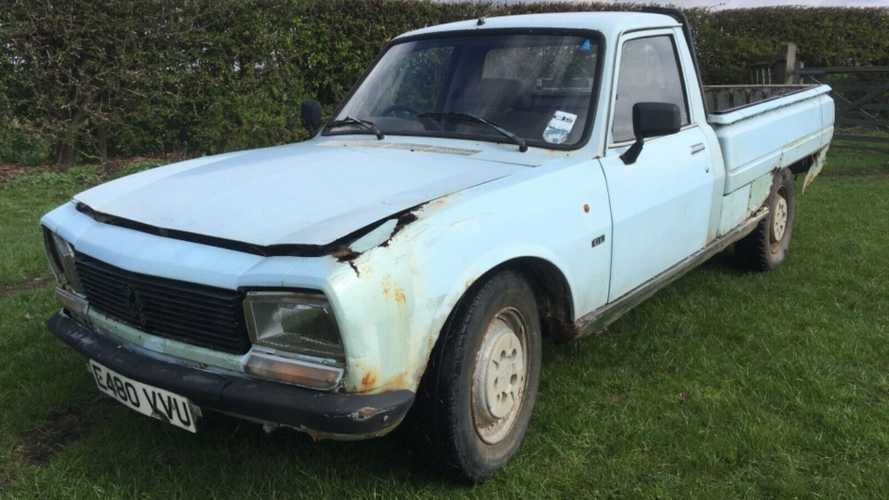 Totally Ruined Barn Find Peugeot 504 Pick Up Is Down But Not Out