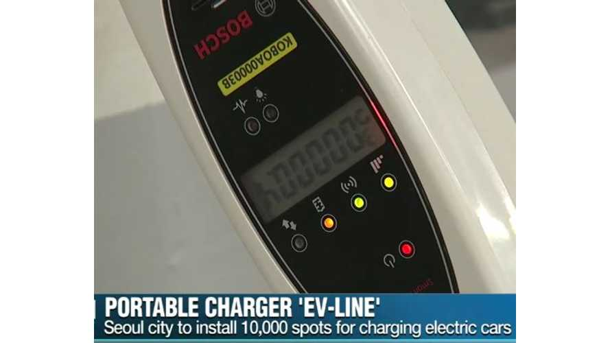 Portable Chargers For Electric Cars In South Korea? - Video