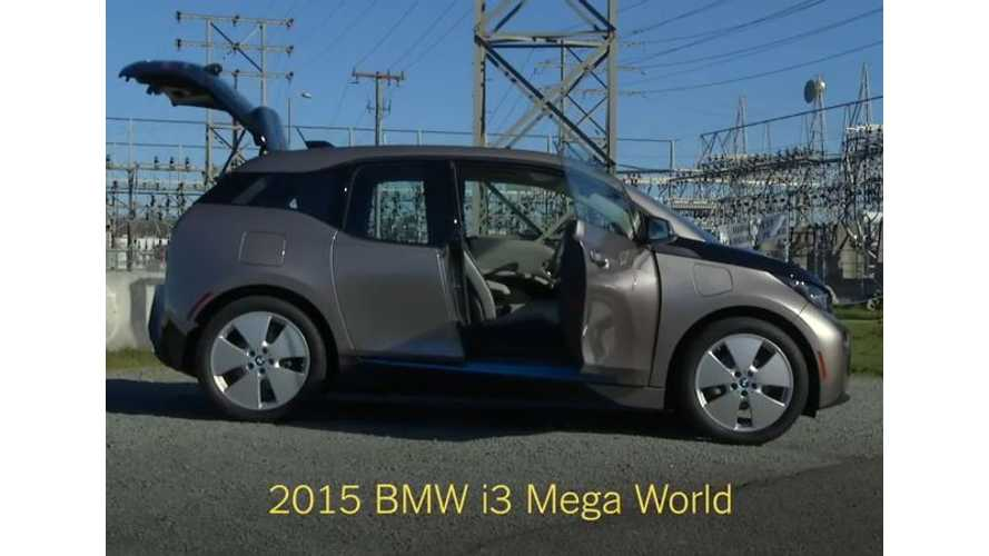 BMW i3 Test Drive Review By New York Times - Video