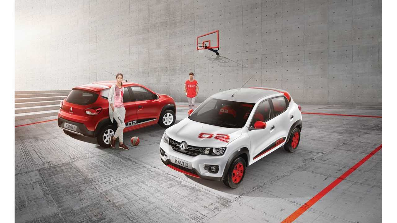 Renault-Nissan looking to break into China with a new all-electric A Segment SUV (think like Renault Kwid shown here)